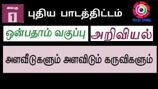 tamilnadu textbook new syllabus 2018 9 th standard science Alaveedugal part 2