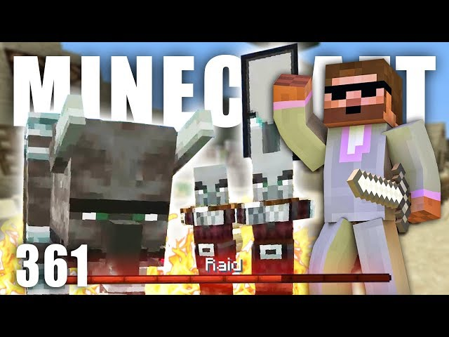 MŮJ PRVNÍ RAID!   Minecraft Let's Play #361