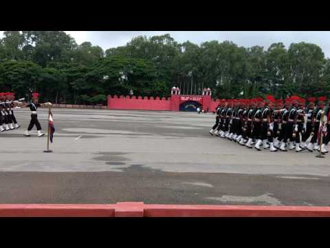 Passing out parade of sena police boys     - YouTube