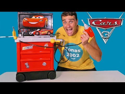 Cars 3 Service Station ! || Toy Review || Konas2002