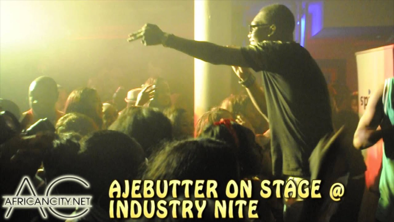 Download AJEBUTTER ON STAGE @  INDUSTRY NITE