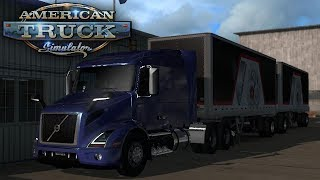 Double Tires to San Diego! American Truck Simulator Mods #5