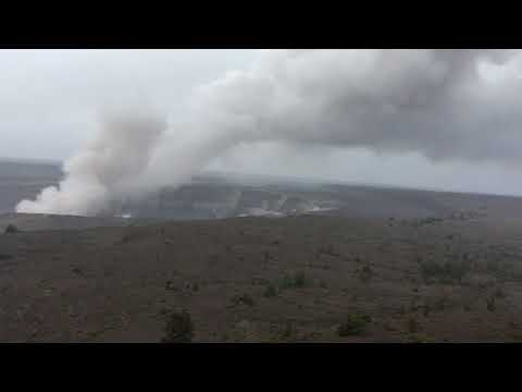 Latest update from the Hawaiian Volcano Observatory, May 10, 2018