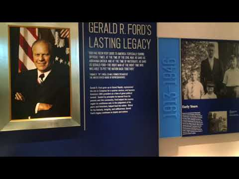 President Gerald R. Ford Tribute Room