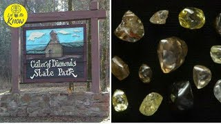 America Has A Place In Which People Can Pick Up Diamonds From The Ground And Keep Them