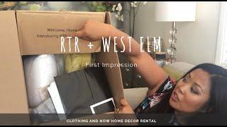Rtr   West Elm First Impression