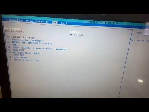 How To Disable Secure Boot On Acer Laptop