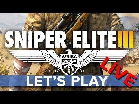 Sniper Elite 3 - Eurogamer Let's Play LIVE