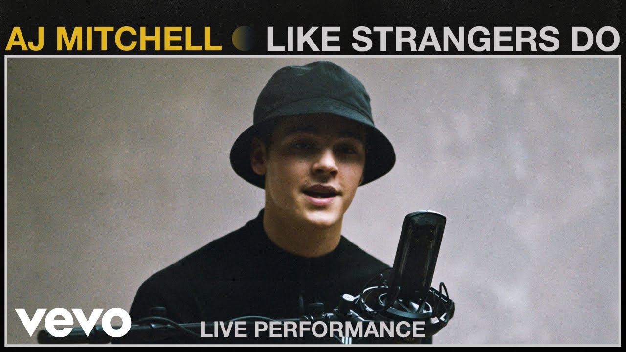 "AJ Mitchell - ""Like Strangers Do"" Live Performance   Vevo"