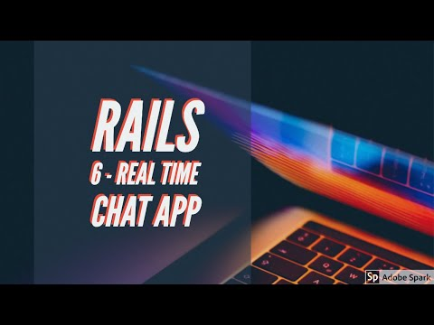 Rails 6 - Real Time Chat App