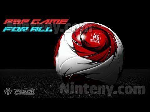 Pro Evolution Soccer 2014 PSP - an association football video game on PSP!