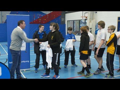COMMUNITY: Malky Mackay presents winners of multi-sport tournament