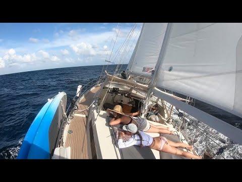 SLOW TV - ASMR - Passage to Tobago - Sailing Vessel Delos