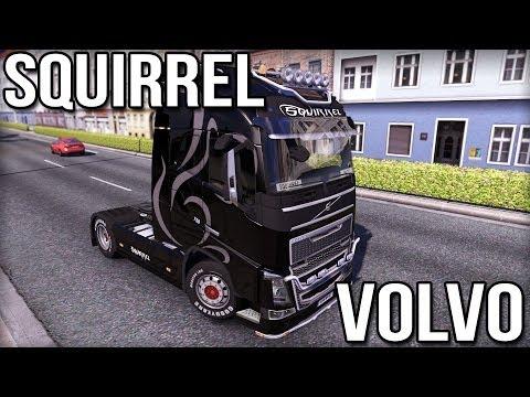 Squirrel Volvo - Euro Truck Simulator 2 (Volvo FH)