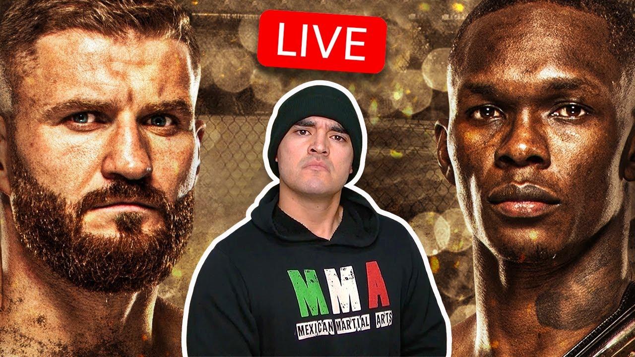 UFC 259 Blachowicz vs Adesanya LIVE Mexican Fight Companion 🔥🔥