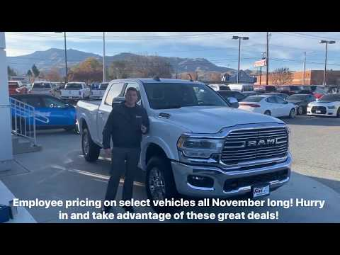 Employee Pricing on Select Models