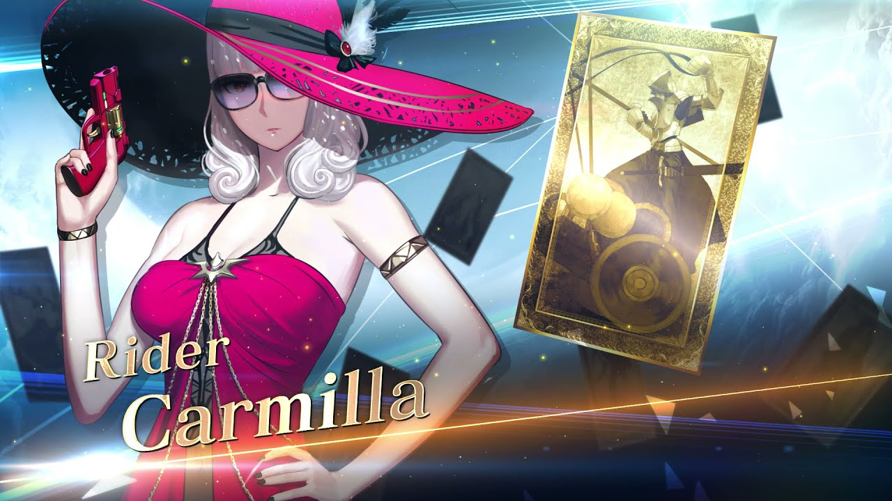 Fate/Grand Order - Carmilla (Rider) Servant Introduction