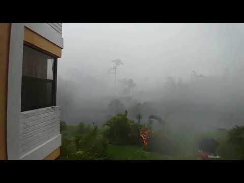 Tornado Accompanied by Intense Rain Sweeps Through Coral Springs, Florida