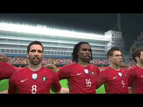Portugal Vs. Chile | FIFA Confederations Cup 2017 | Semi-Final | PES17 PC Gameplay