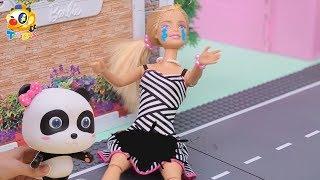 어머!바비의 옷이 더러워졌다!!|바비의 생일파티|화장놀이|토이버스 인형놀이|Kids Toys | Baby Doll Play | ToyBus Barbie|Toy Story