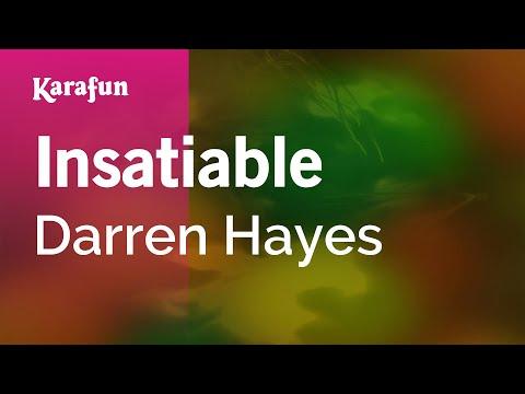 Karaoke Insatiable - Darren Hayes *