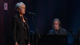 Cover images «Before the deluge». Joan Baez and Jackson Brown. Live at the Beacon Theater of New York