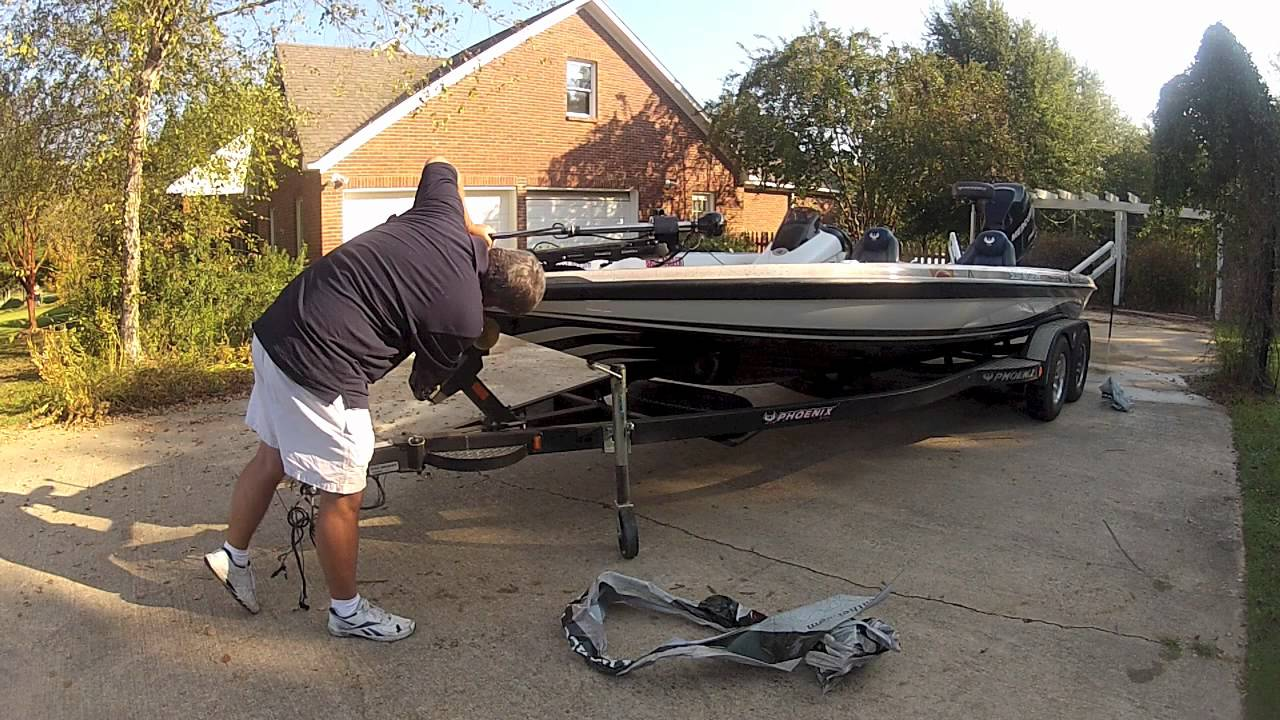 Removing A Boat Wrap Youtube