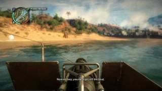Just Cause 2 Mission: River Runs Red