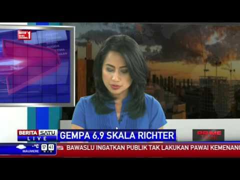 Maluku Tengah Diguncang Gempa 6,9 SR