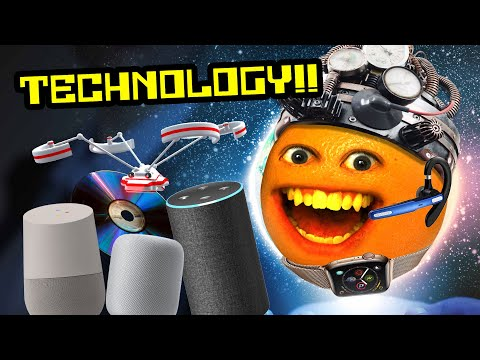 Annoying Orange - TECHNOLOGY Supercut!!