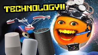 Annoying Orange - TECHNOLOGY Supercut!!