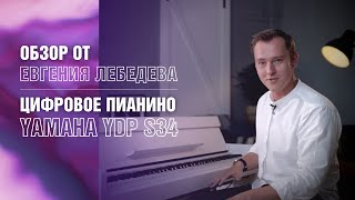 Цифровое фортепиано Yamaha YDP S34 обзор
