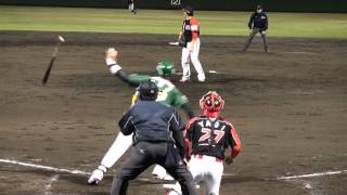 20120407  (Today's hits at  高知市営球場)   FD vs OG Video