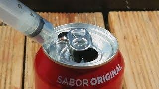 Basta uma Gota desse Metal Líquido para ACABAR com a Coca-Cola!