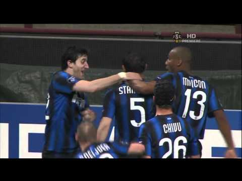 stankovic amazing goal vs schalke 04 5/1/11 HD