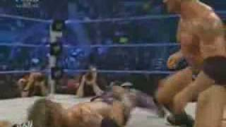 Edge Vs Batista ( smackdown june 29th 2007 )