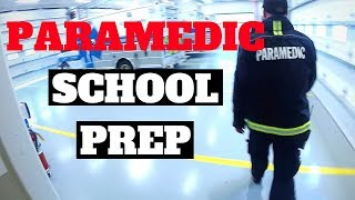 How to Prepare for Paramedic School