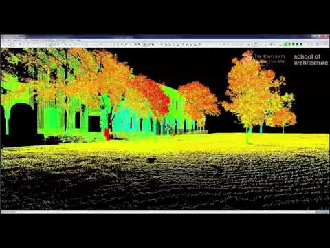 3D Laser Scanning - Cyclone P4 Editing and Control Space