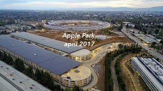 Apple Park (Apple Campus 2) - April 2017 update 4K