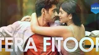 Tera Fitoor    Arjit Singh    Genius movie Karaoke song    320 kbps song