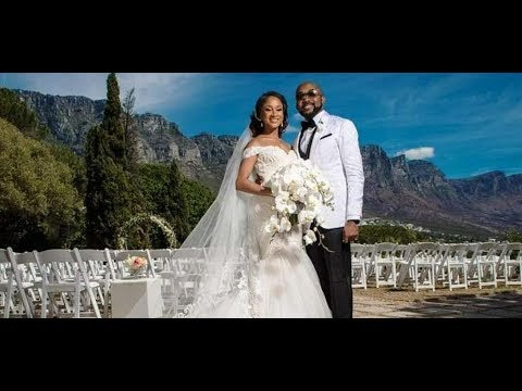 Download Banky W & Adesua Etomi's White Wedding In South Africa #BAAD 2017
