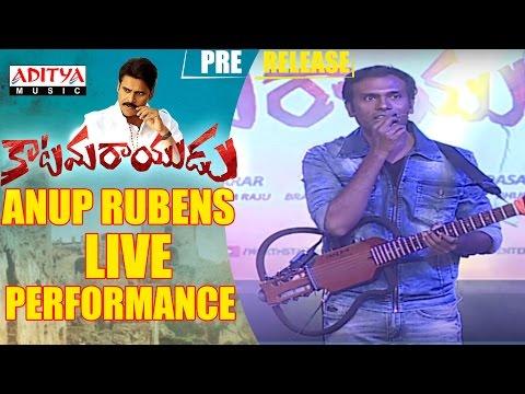 Anup Rubens Live Performance || Katamarayudu || Pawan Kalyan || Shruthi Hassan || Anup Rubens