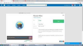 how to get Free Private Mine in the Mining Simulator * REAL * | Roblox