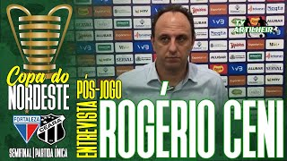 [Copa NE '20] Coletiva Rogério Ceni | Pós-jogo Fortaleza 0 X 1 Ceará Sporting Club