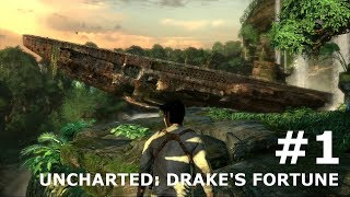 Indiana Jones without the Hat: Uncharted: Drake's Fortune PS4 #1