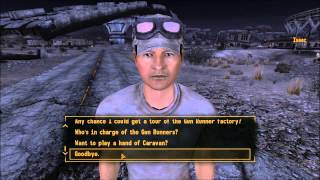 Fallout New Vegas: Unique Weapon Locations: This Machine (Dealing With Contreras) (Part 1)