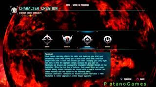 Dust 514 - Create A New Character Walkthrough & Menus - Eve Online - HD