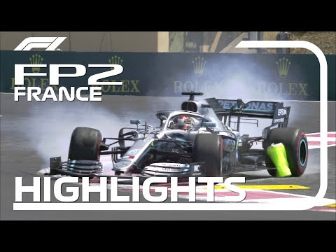 2019 French Grand Prix: FP2 Highlights
