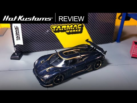 Tarmac Works GLOBAL64 Koenigsegg Agera RS Carbon Edition