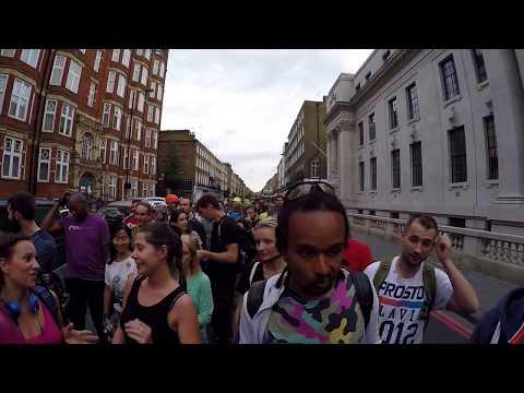 LONDON FRIDAY NIGHT SKATE || ROLLERBLADING || 30 JUNE 2017